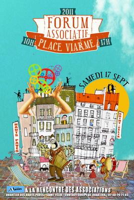 Le 17 septembre, l'ARALA sera présente au Forum des Associations, place Viarme à Nantes. Formvairm11400